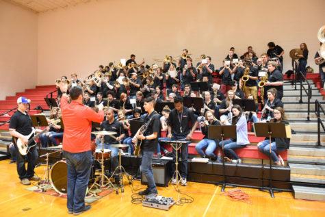 Pep Band Makes GRC Proud