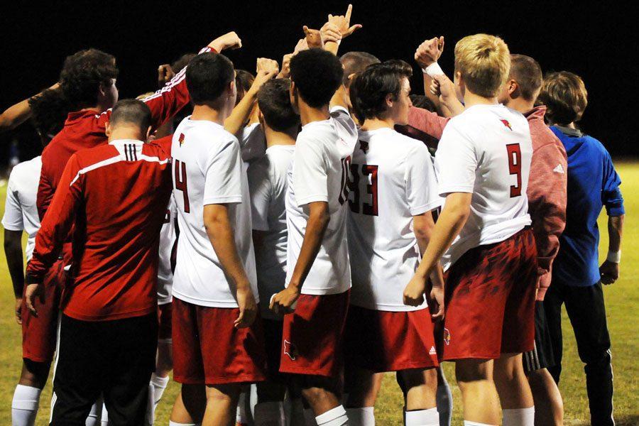 Boys' Soccer Team Ends Losing Streak