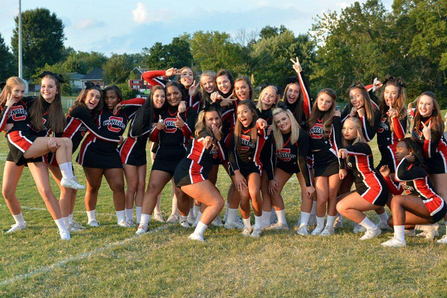 Cheerleaders Prepare For Competition Season