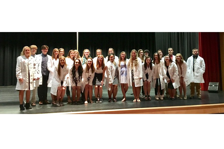 PLTW Pathway Rewards Students for Hard Work During White Coat Ceremony