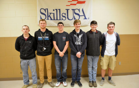 Seven Students Qualify for State Skills USA