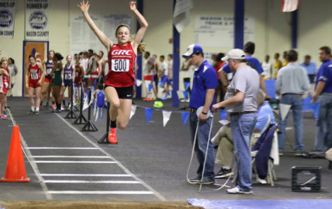 Freshman Goes Distance, Claims First in State Indoor Track