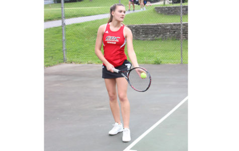 Kindred Adapts to Singles Play, hopes for Another Trip to State