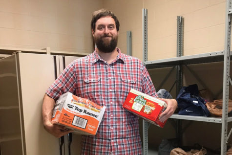 GRC Opens Food Bank for Students in Need