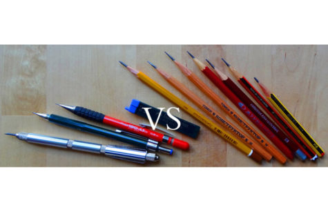 Wooden vs. Mechanical Pencils