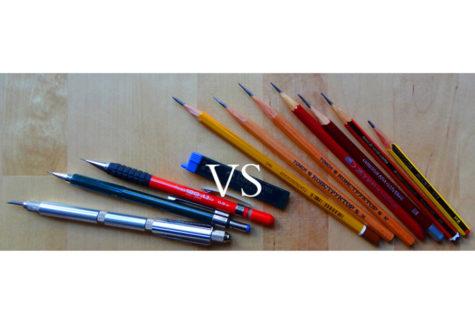 Wooden vs. Mechanical Pencils