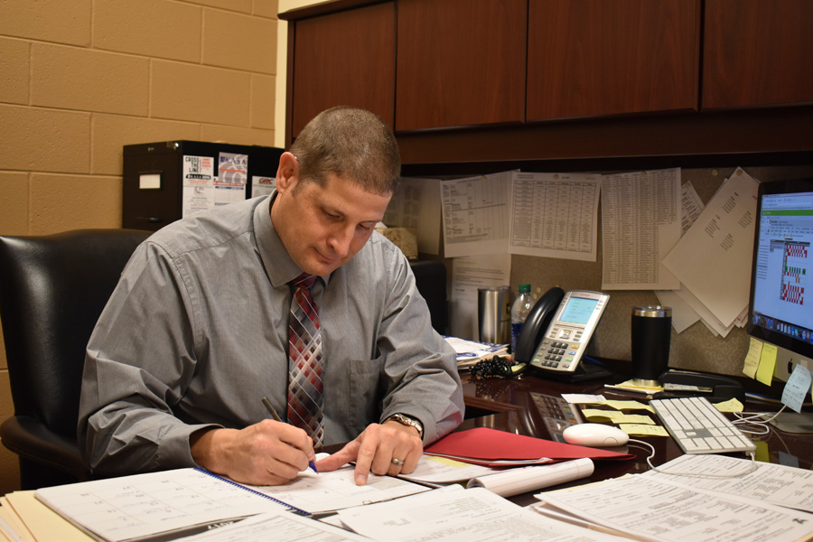 Mr. Snell enjoys being an advocate for students.