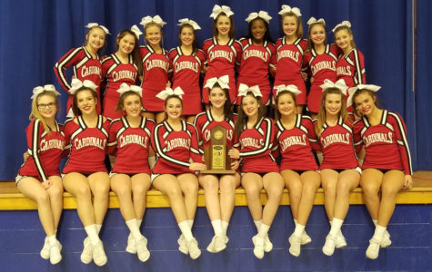 Cheer Team Advances to State After Region Win