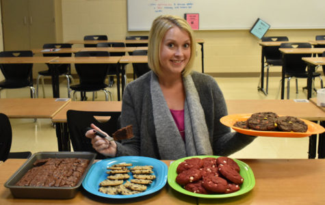 Doyle Uses Baking Skills to Motivate Students