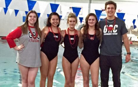 Swimmers Celebrate Senior Night, Prepare for Regionals