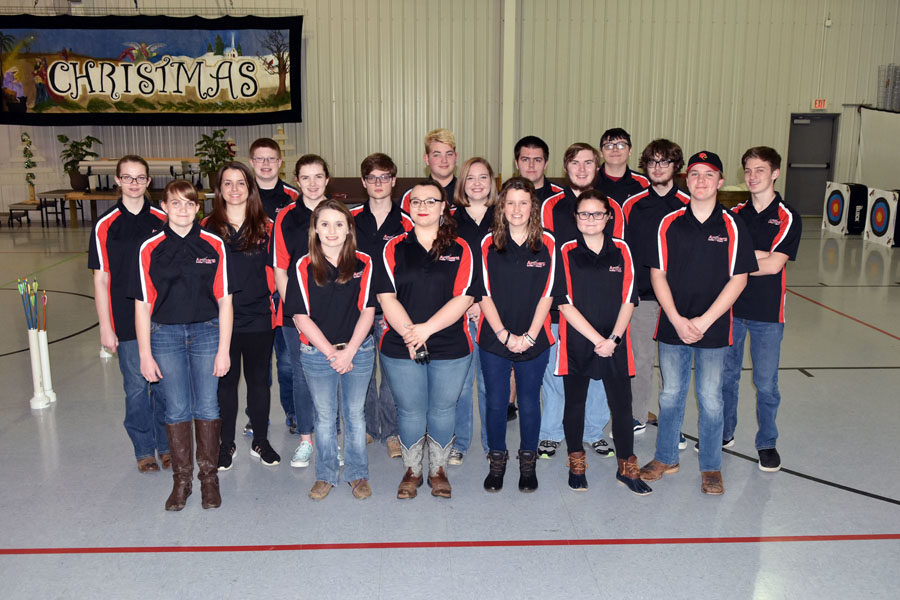 The 2017-18 GRC Archery Team