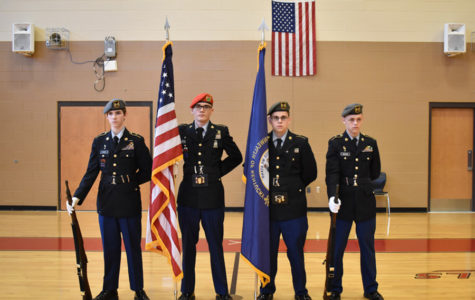 JROTC Prepares for Official Inspection