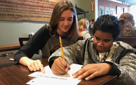 Mentors and Meals Creates Bonds, Educational Growth