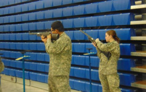 Gibson Thrives as Only Female on Air Rifle Team