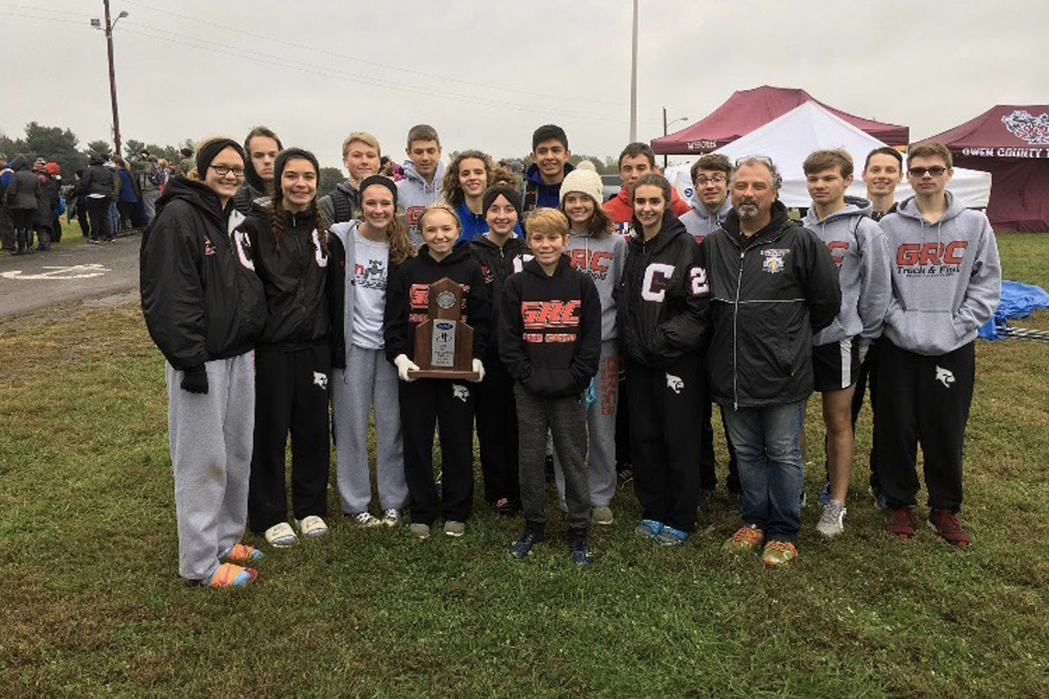 Both the girls and boys advance to state Saturday.