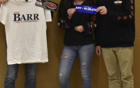 Students Participate in Campaigning for Midterm Election