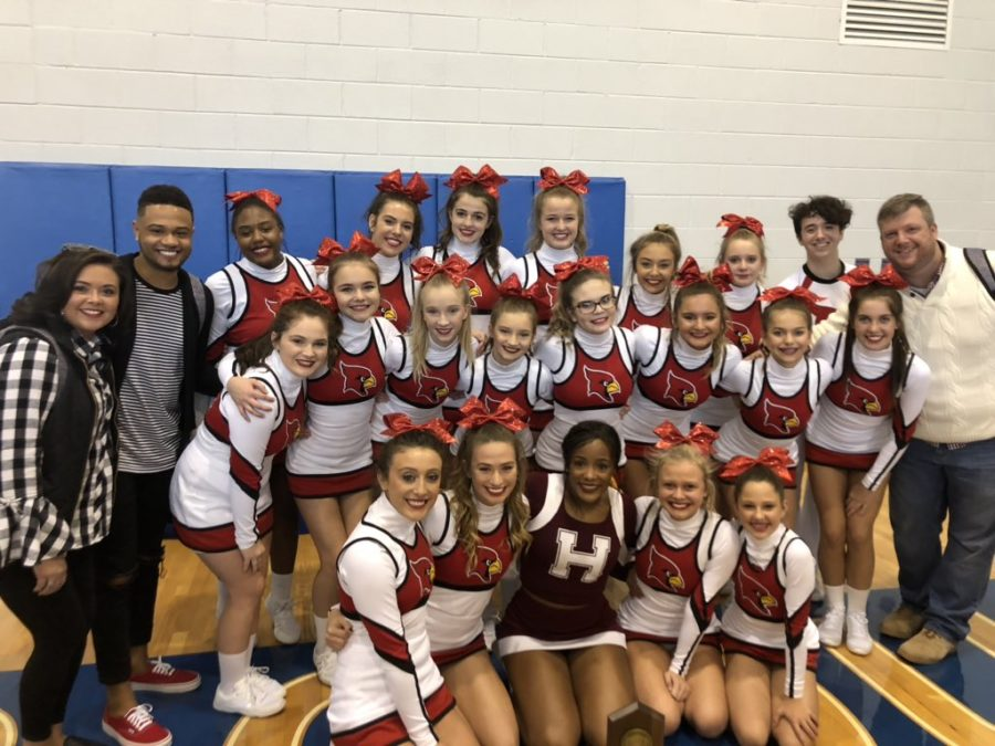 Family bonds boosts cheerleaders to state