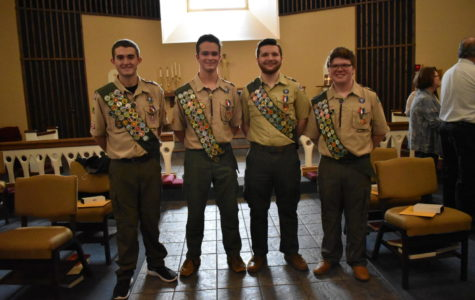 GRC Students Honored in Eagle Scout Ceremony