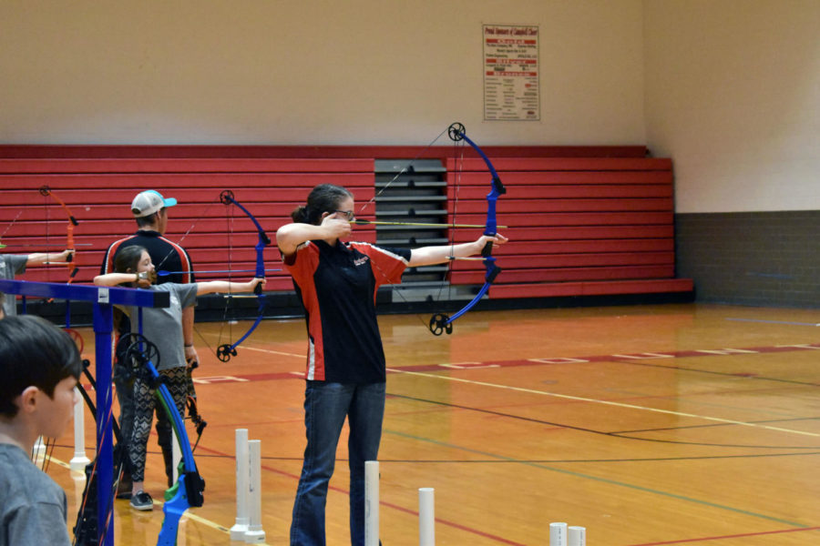 Archery team improves through the years