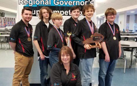 Academic Team Advances to State Competition