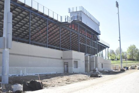Athletic facilities edge closer to completion
