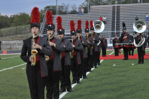 Marching band works hard to perform at a higher level
