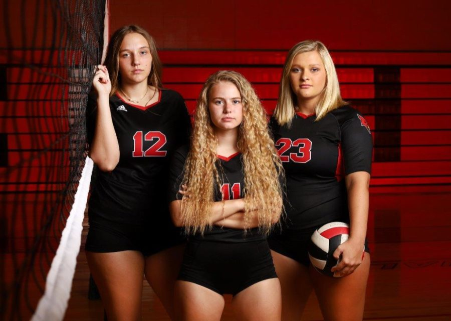Volleyball seniors reflect…