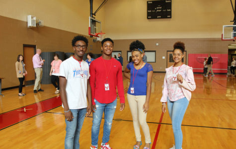 Lil LeAnn Pankey, far right, and friends at the Leadership Challenge Blitz.