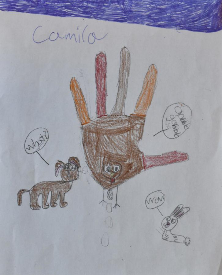 Thanksgiving Turkeys by Shearer 2nd graders