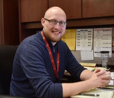 Ryan Daniel, 11th grade counselor
