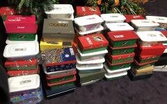 Despite the Covid challenges, Beta Club members packed 95 boxes for the Operation Christmas Child project
