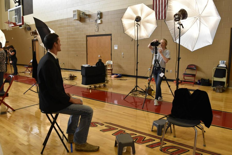 School pictures and senior portraits will be offered at school in early March.