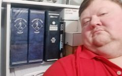 Science teacher Matt Dickison is an avid card collector.