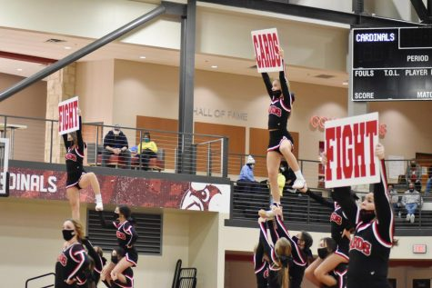 Cheerleaders to compete virtually