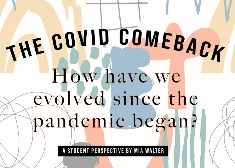 Dwell on the good that will come from the pandemic