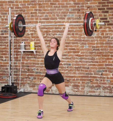Riley Williams is getting attention across the nation in youth weightlifting competitions. She will complete internationally next week.