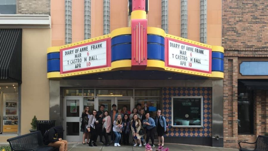 Before the Pandemic, the Cohort gathered at the Grand Theatre in Frankfort to enjoy live performance.