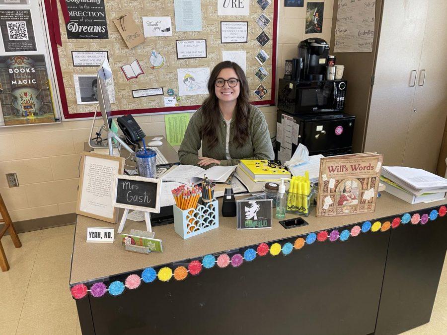 English teacher Madeline Gash