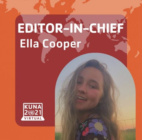 Ella Cooper, recognized by KUNA as Editor-in-Chief