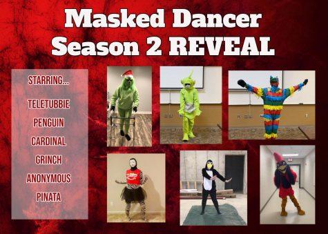 GRC Masked Dancer Season 2 REVEAL