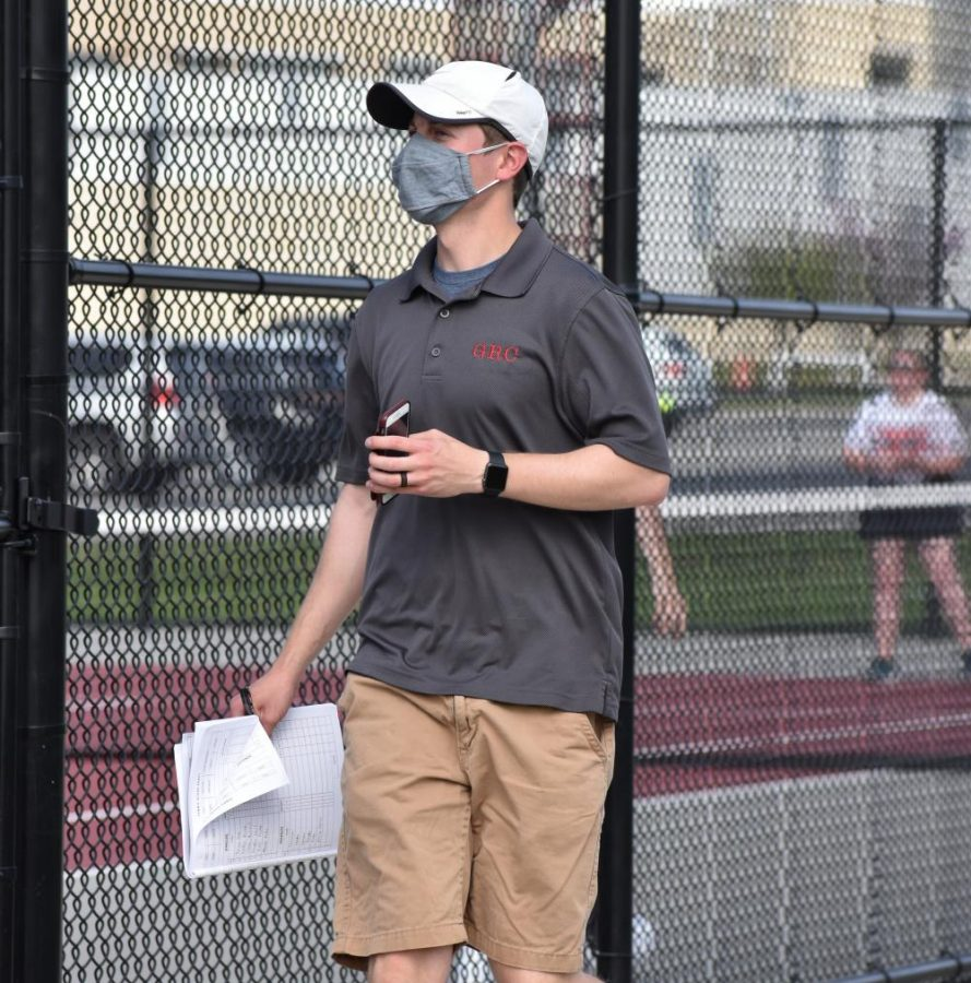 Tennis Coach Seth Heinss