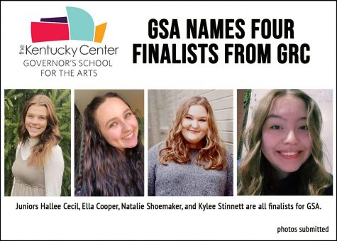 Four GRC students selected as GSA finalists
