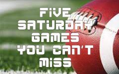 Top 5 Week Two college football games to watch