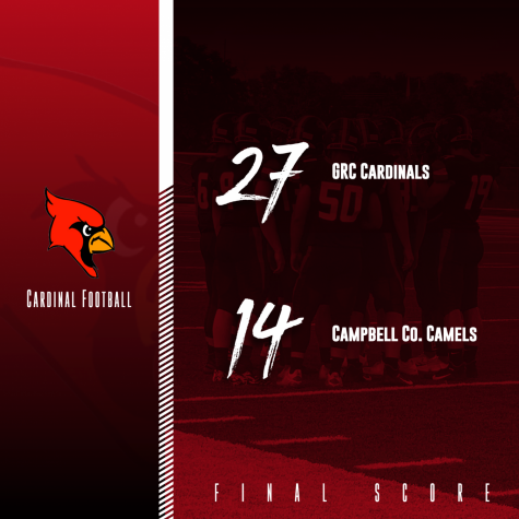 Cardinals win second straight, beating Campbell County at home