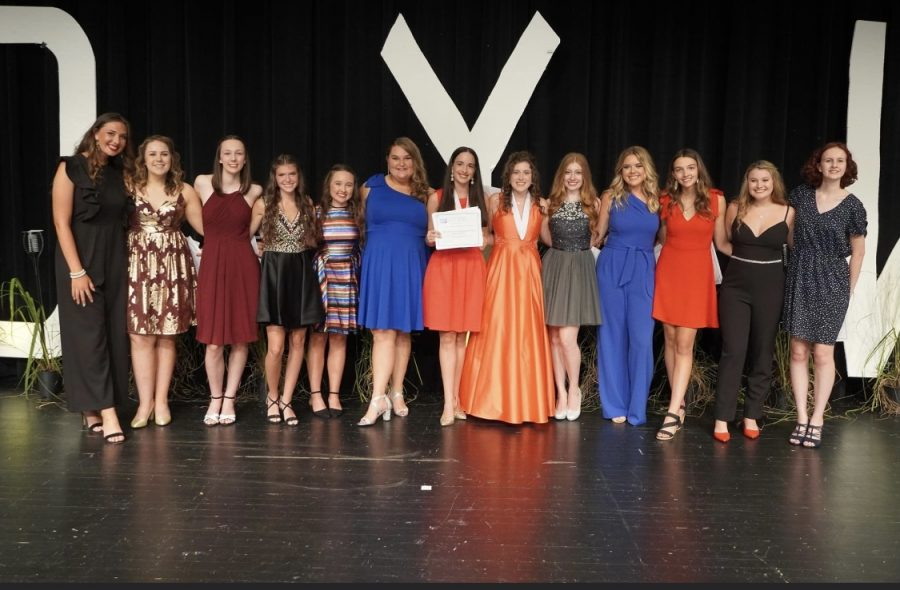 Sarah with fellow DYW participants
