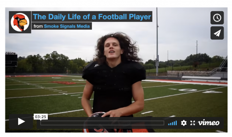 A Day in the Life of a GRC Football Player