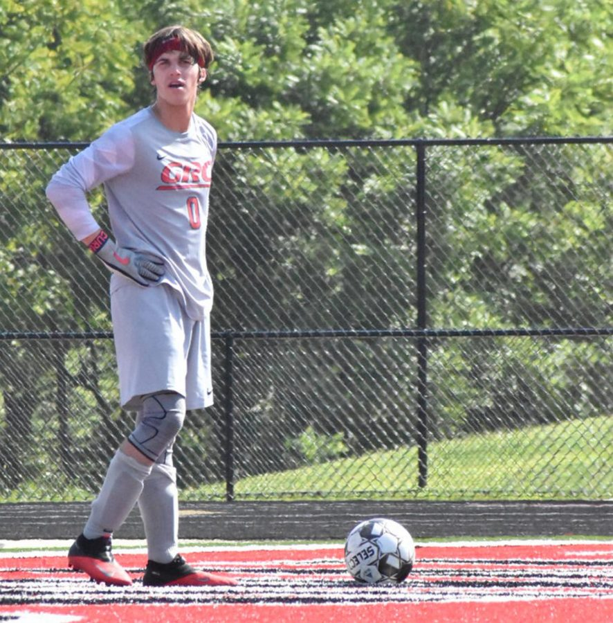 Tennyson Prater is the boys soccer goalie.